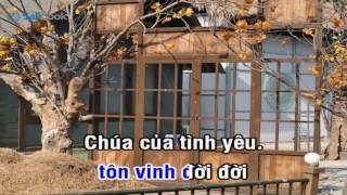 [Karaoke TVCHH] 342- TÔN VINH CHÚA TÌNH YÊU - Salibook