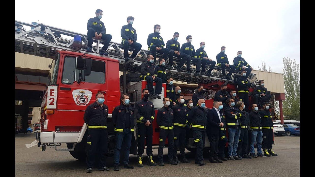 Nuevos bomberos en Albacete, por primera vez una mujer