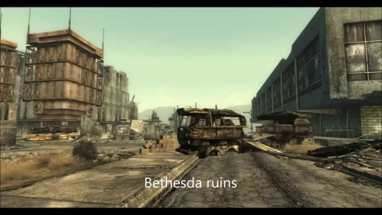 Fallout 3 Real Life Locations Comparison - YouTube on