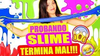 MEJORES Recetas de SLIME! TERMINA MUY MAL!!! DIY SandraCiresArt thumbnail