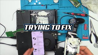 Trying to FIX: eBay PS4 with BLOD & Not Reading Discs