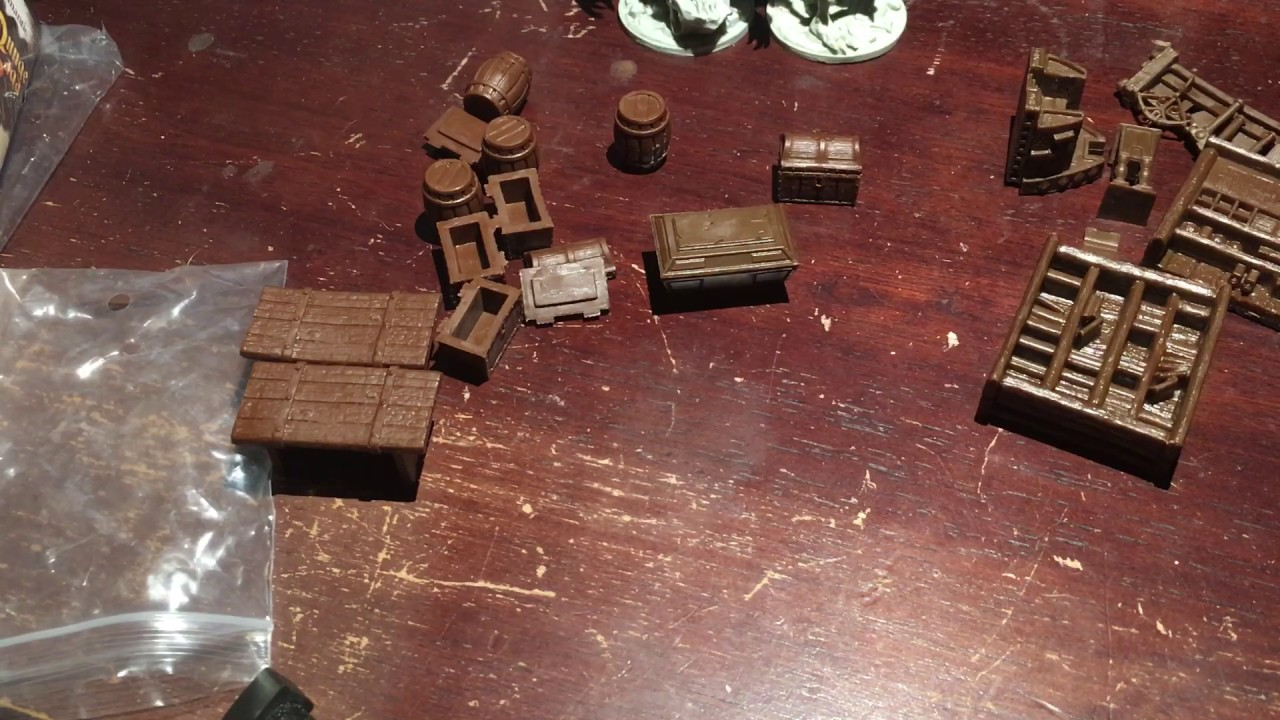 Miniature Monday 11 14 2016 D D Creatures Of Icewind Dale Dungeon Furniture Pack Unboxing