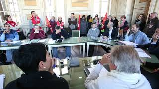 La CGT des services municipaux d'Angoulême s'invitent au comité technique de la ville