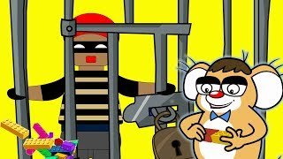 Rat-A-Tat |'Don's Lego Prison Toy+ Robbery + 3 Mice Cartoons'| Chotoonz Kids Funny Cartoon Videos --