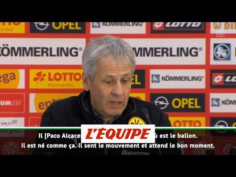 Favre impressionné par Alcacer - Foot - ALL - Dortmund