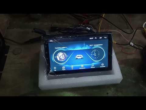 Распиновка проводов на 2din Android магнитоле с АлиЭкспресс
