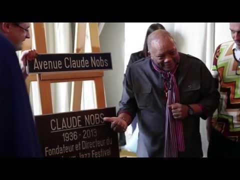 Inauguration Avenue Claude Nobs