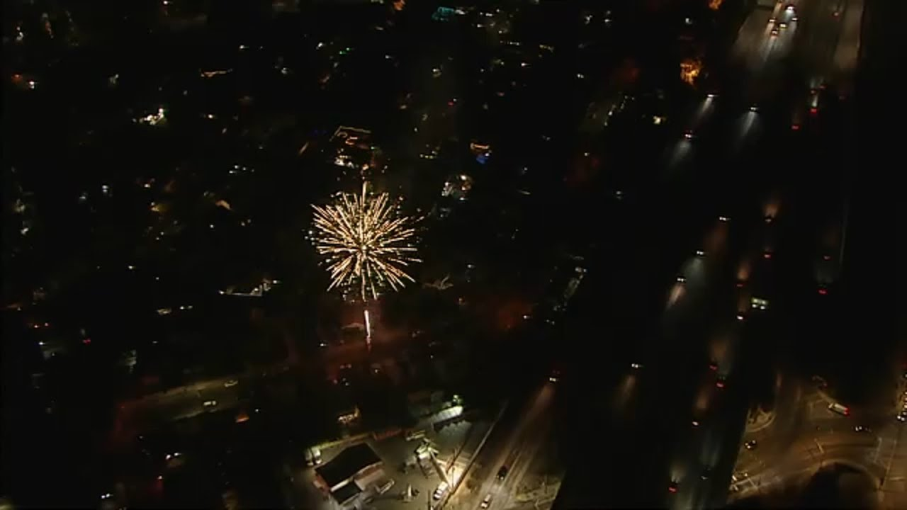 Fourth of July fireworks, many illegal, light up skies across Los Angeles area I ABC7
