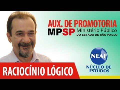 Raciocinio Lógico - Curso Para Auxiliar de Promotoria - José Luiz de Morais