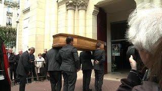 Obsèques de Patachou à Levallois