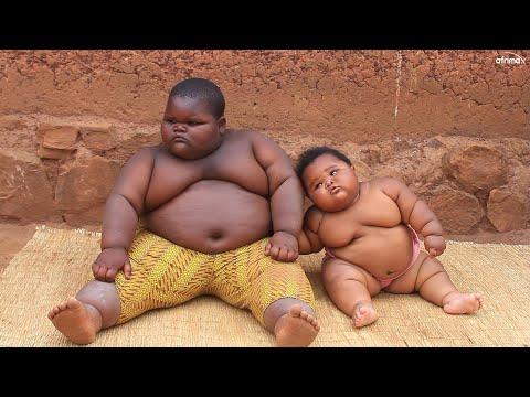A 5YEARS KID HAS 100KG AND HIS SISTER WITH 13MONTHS HAS 25KGS. Umwana wimyaka 5 ufite ibiro 100 yatu
