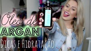 Óleo de Argan- Dicas e Hidratação | Amanda Domenico