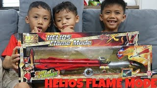 Unboxing Helios Flame Mode DX DELUXE (Sword Mode and Garuda Mode)
