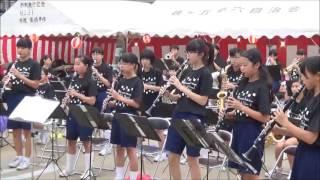 【吹奏楽】夏祭り/JITTERIN'JINN《鶴ヶ島市立南中学校吹奏楽部》