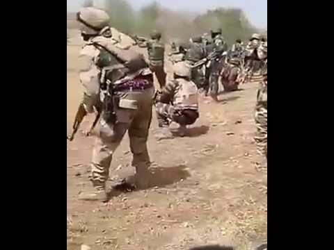 Nigerian Troops and Boko Haram in exchanging gun fire