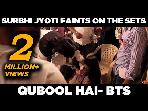 Qubool Hai | Surbhi Jyoti faints on the sets | April Fools prank | Behind the scenes