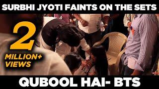 Qubool Hai | Surbhi Jyoti faints on the sets | April Fools prank | Behind the scenes thumbnail