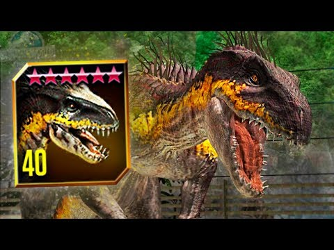 NEW INDORAPTOR MAX LEVEL 40! - Jurassic World: The Game - *SUPER-HYBRID* - Ep. 154 HD