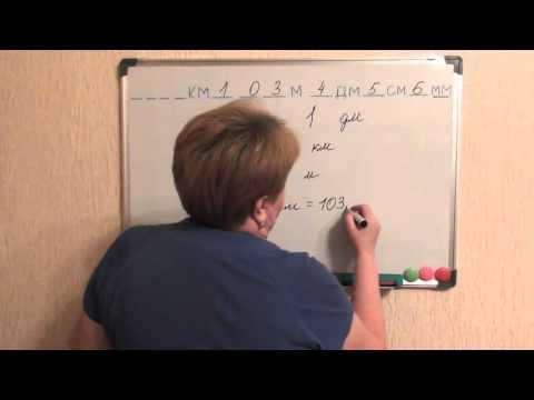 единицы измерения длины 3 урок