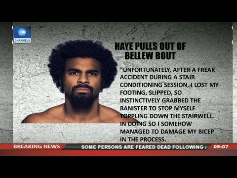Fury Calls Out Bellew As Injury Stops Haye Pt1 Sports This Morning