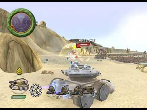Battalion wars Solar empire Bonus mission