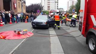 Desincarcération 1 Pompiers Saint Ghislain