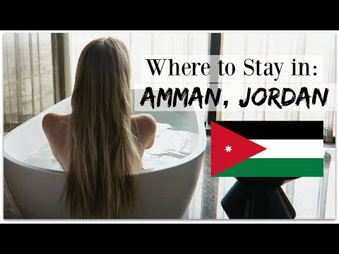 TRAVEL DIARY: LUXURY IN AMMAN, JORDAN | Hotel Amman Rotana