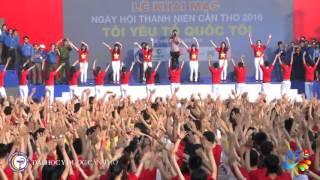 Flashmob Ngày hội thanh niên Cần Thơ 2016 - CTUMP