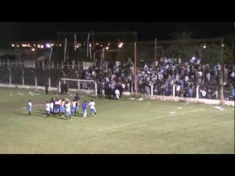 Concepcion F.C. 0 Deportivo Aguilares 2 - Segundo gol celeste Alonso del Conte y minutos finales