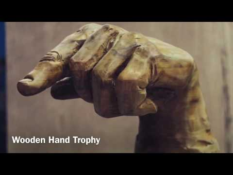 Sculpting a Giant Hand