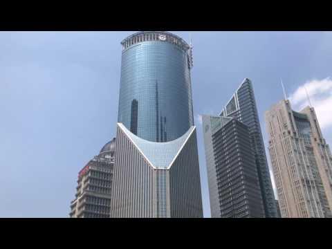 Lujiazui financial center Shanghai