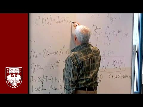 Steve Smale on Topology and the Geometry of Manifolds from Sampling