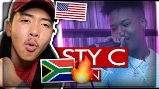 Nasty C Freestyle - Westwood Crib Session (4K) AMERICAN REACTION! South African Music US USA REACTS