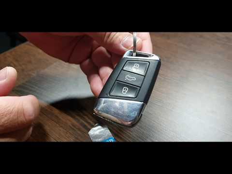 Как поменять батарейку CR 2032 в ключе Volkswagen Passat