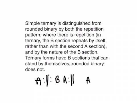 Ternary Forms