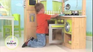 KidKraft 53274 Limoengroene Kinderkeuken  Sprookjessalon