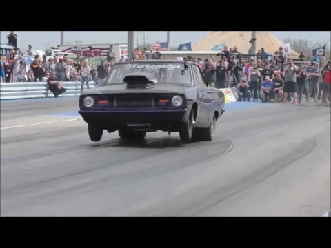 Street Outlaws Dominator twin turbo setup is one lethal combination!!