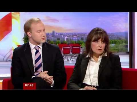 BBC Breakfast - Coffee Shop's Mobile Phone Ban - Interview with William Hanson and Dr Helen Taylor