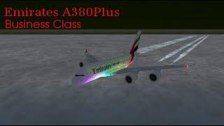 ROBLOX | Emirates Business Class A380Plus Flight!