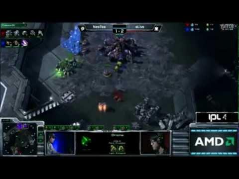 StarCraft 2 IPL-4 (LAS VEGAS) aLive Vs NesTea Game 1