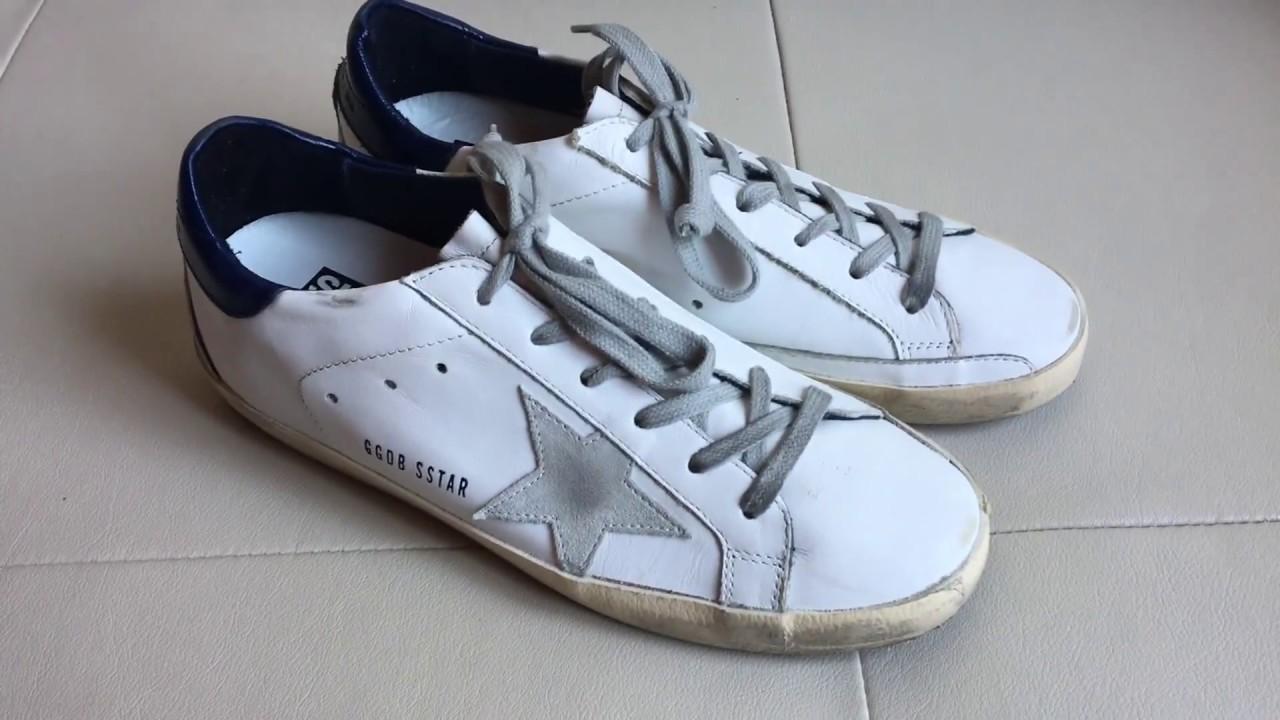 Golden Goose Deluxe Brand Blue sneakers