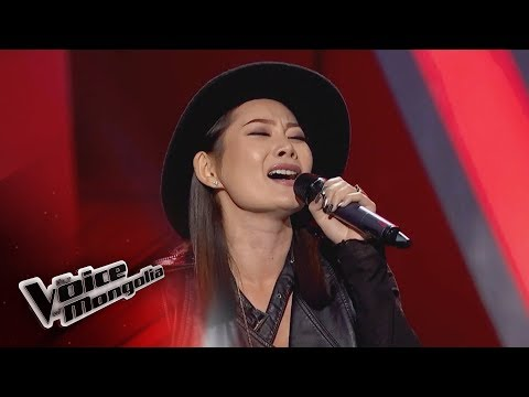 """Nasanbuyan.L - """"Another Love"""" - Blind audition - The Voice of Mongolia 2018"""