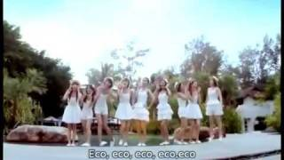 Girls Generation -  SNSD  ECHO (SUB-ESPAÑOL)