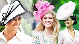Чудные шляпы на скачках Royal Ascot 2018 - Меган Маркл, Елизавета II и другие