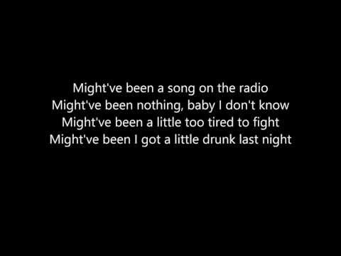 Eli Young Band - Drunk Last Night Lyrics