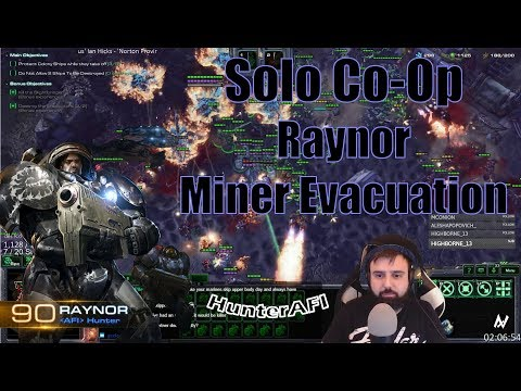 Solo Co-Op Raynor Miner Evacuation [Full Clear] 26:08
