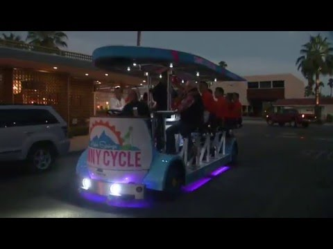 Sunny Cycle lights up Palm Springs roads