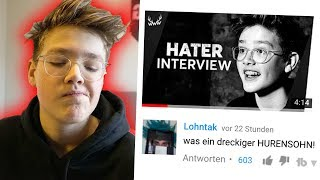 Mein HATER INTERVIEW war ein DESASTER!...