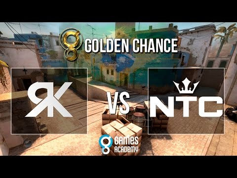 Golden Chance #1 - RampageKillers vs.  NTC (Mapa 3 - Mirage) - Grande Final