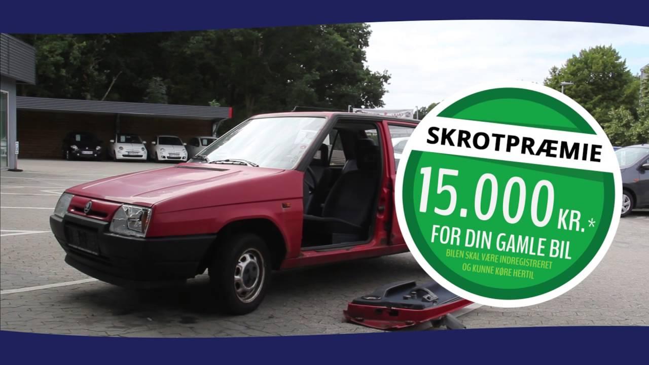 gammel bil som udbetaling
